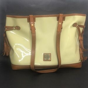 Dooney & Bourke patent leather bag
